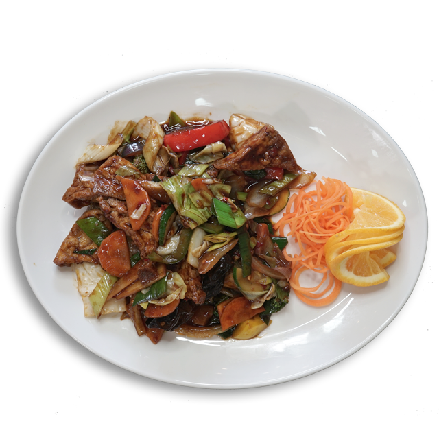 Tofu Gebraten (veg.)